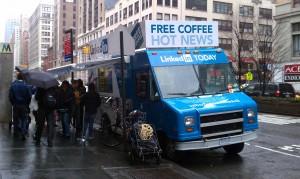 LinkedIn Vending Truck