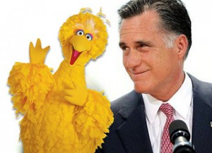 Mitt Romney and Big Bird