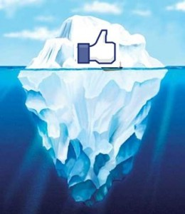 Facebook Like Iceberg