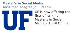 Masters in Social Media -UF