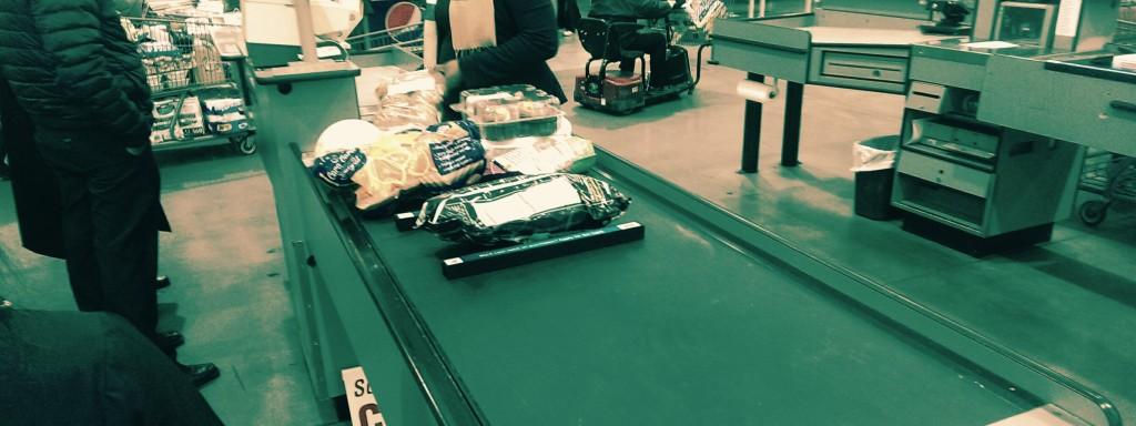 Costco Single-Item Checkout Lane