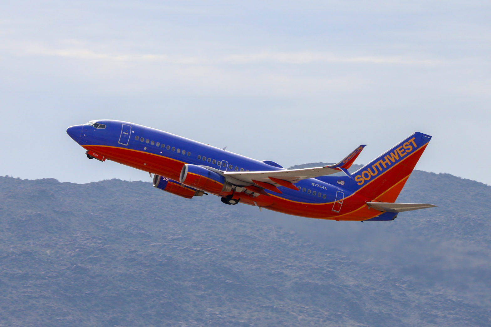 Southwest Airlines - Boeing 737-7BD (N7744A) - Quintin Soloviev