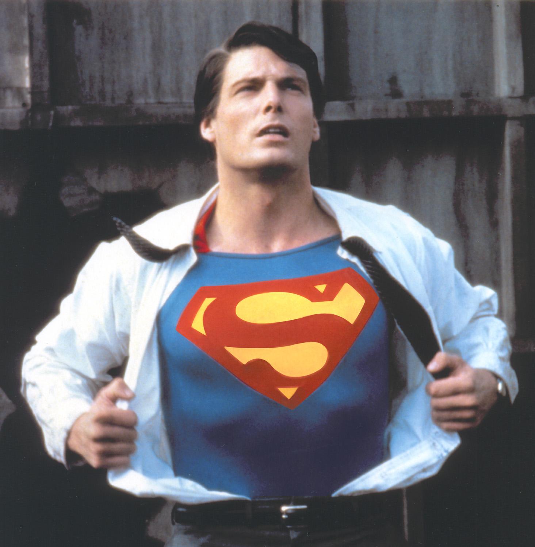 Superman Shirt Off